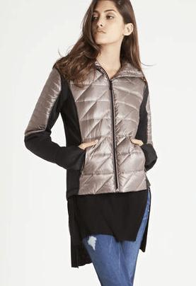 outerwear - classic puffer jacket