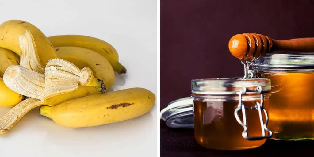 DIY moisturizer recipes - honey and banana