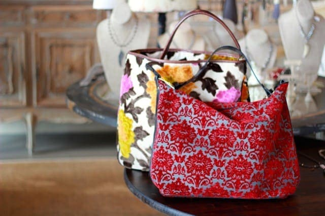 alpharetta shopping guide - la bella maison - colorful purse