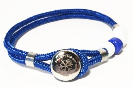 KonectIDY Protect Our Winters Bracelet, $11.95
