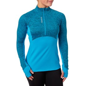 cold weather gear - fitted running top with half-zip