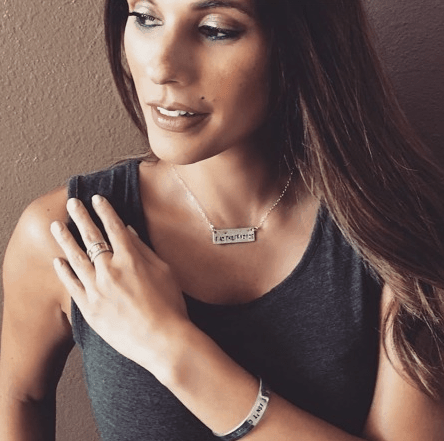 gifts that give back - I am their voice necklace