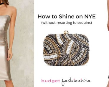 nye outfits that shine without sequins!