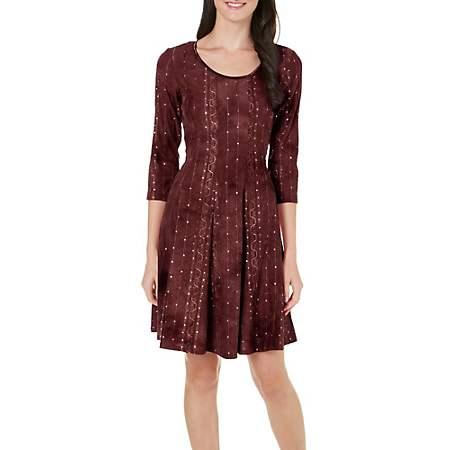 date night dresses - sequin embellished tie dye dress