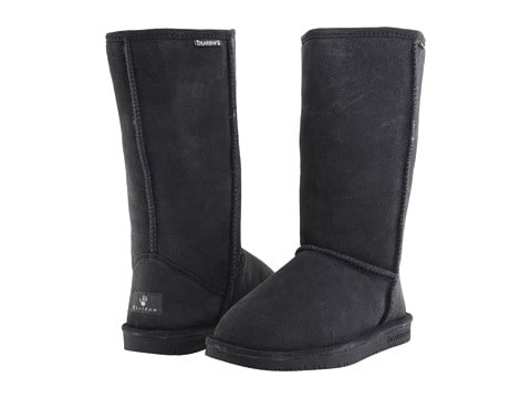 fake uggs - bearpaw emma tall in charcoal