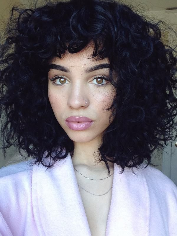 hair trends - curly hair style
