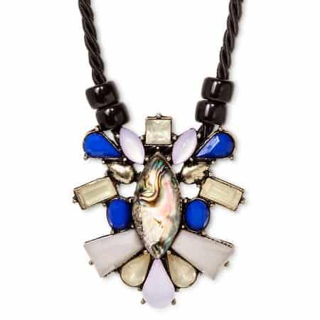 sugarfix beaded pendant necklace