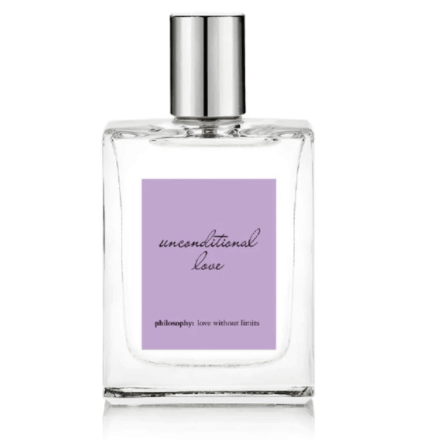best perfumes for women - philosophy unconditional love