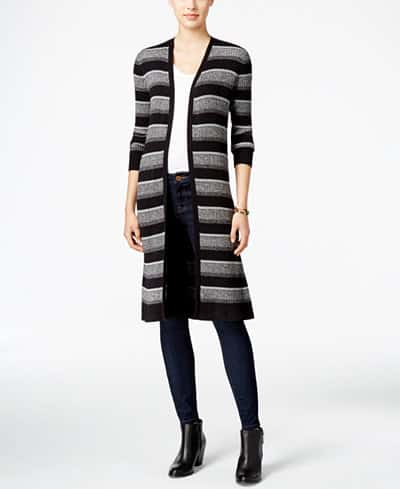 what to wear to jury duty - ribbed duster