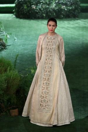 lakme fashion week - anita dongre gown