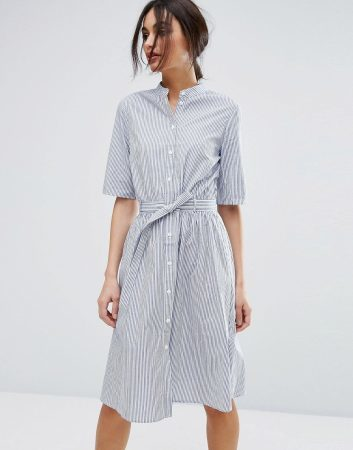 spring fashion must-haves 2017- the man's shirt dress