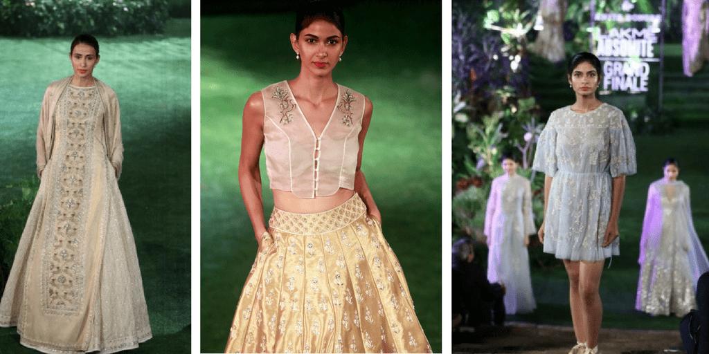lakme fashion week - anita dongre collection