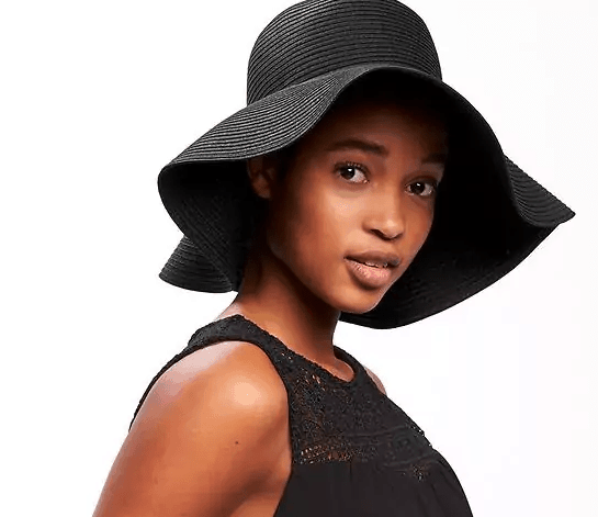 runway inspired spring accessories - the floppy straw hat from Old Navy