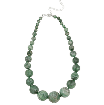 runway inspired spring accessories - agate necklace