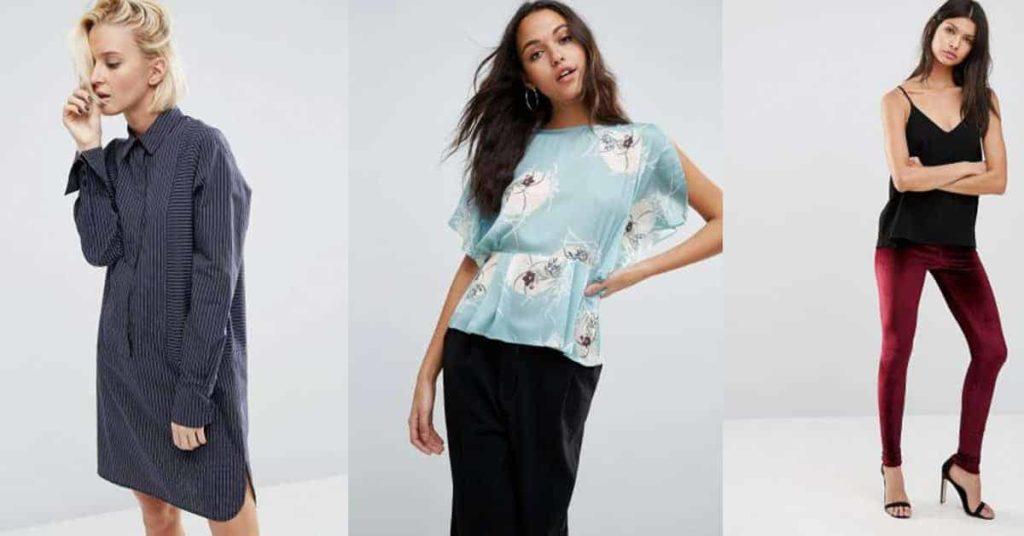 spring fashion collage