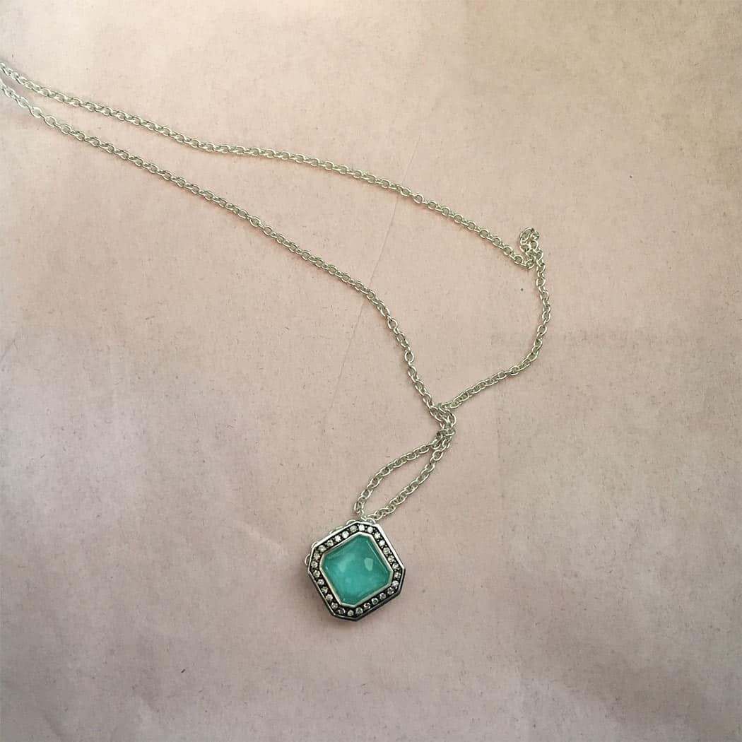 Ippolita Turquoise Stella Pendant Necklace, $695 Retail Value