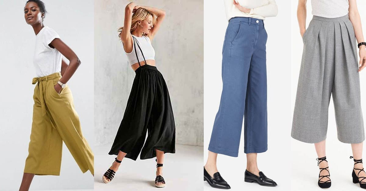 culottes collage