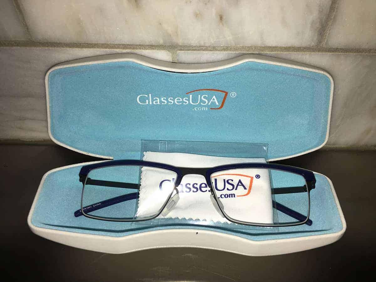 Lester frames from Glasses USA
