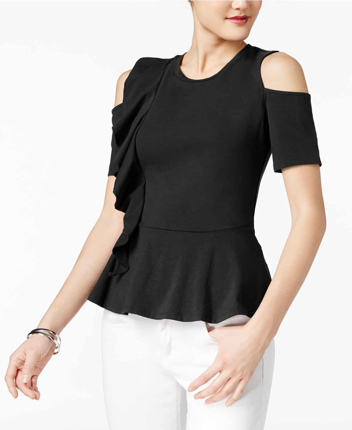 noon by noor look for less - peplum top