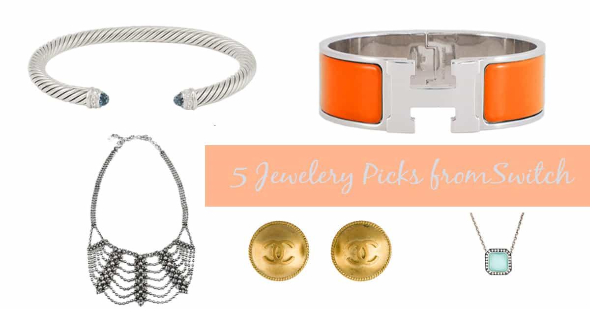 Switch jewelry subscription service - top 5 designer jewelry picks