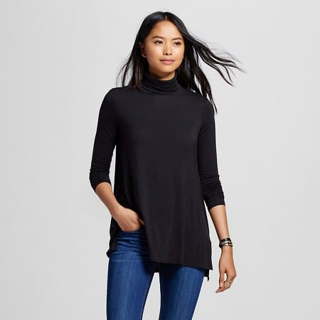 noon by noor look for less -- target turtleneck tee