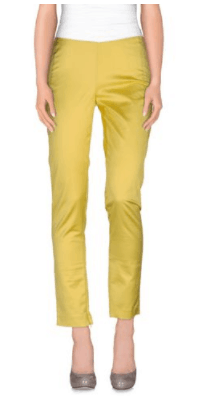 oscars style - bright yellow pants