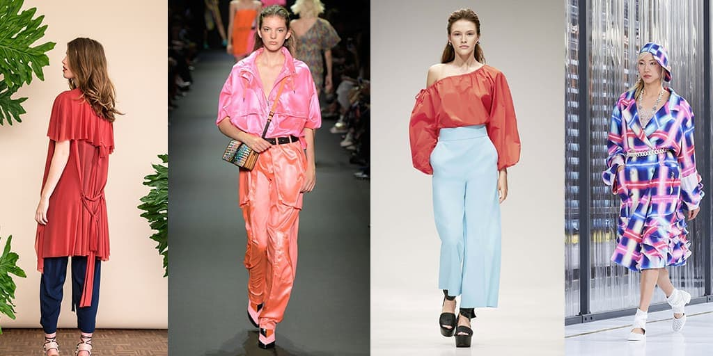 Summer fabrics trends from the runways
