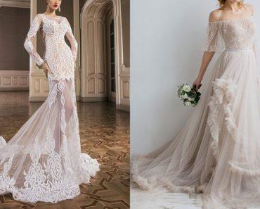 Wedding dress designs from Devotion Dresses