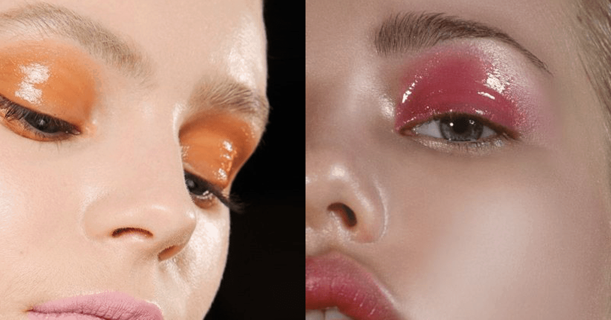 Glossy Lids - How to Get Them