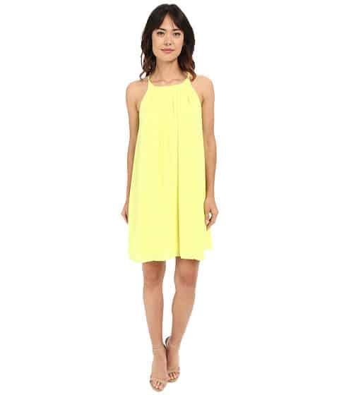 Vince Camuto light, yellow summer dress