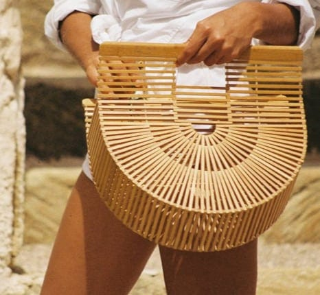 Summer it bags collection: wooden, arc bag