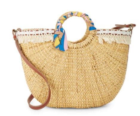 Summers It Bags Collection: Woven Straw Tote