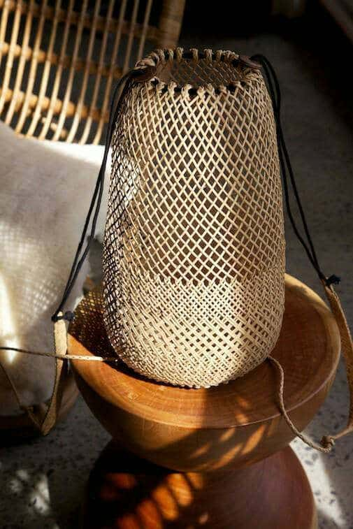Summer's it bags collection - rattan basket bag