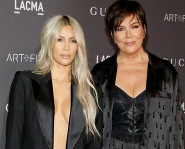 Kris Jenner and Kim Kardashian West