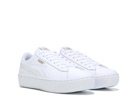 White Puma Platform Sneakers