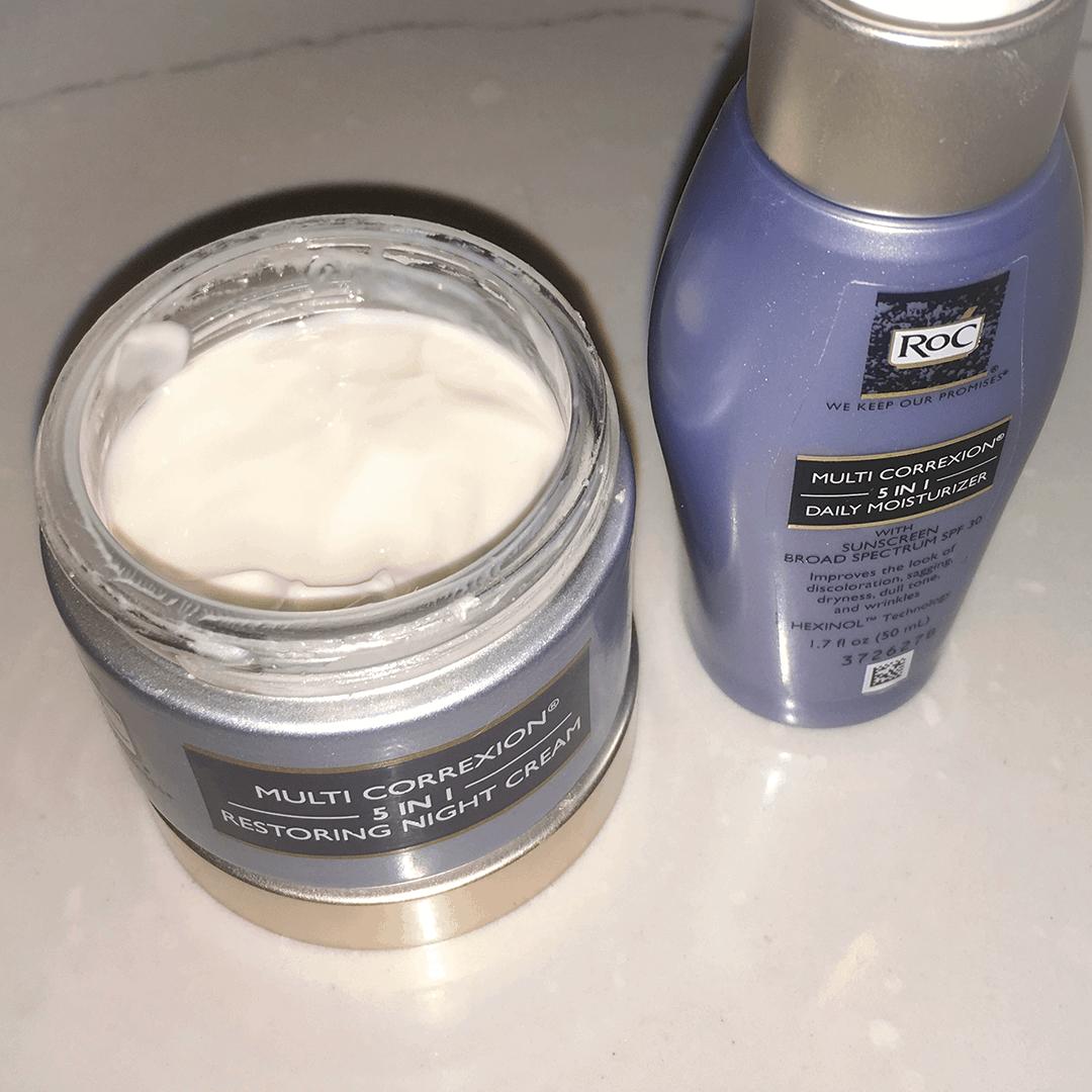 RoC MULTI CORREXION Night cream and day moisturizer