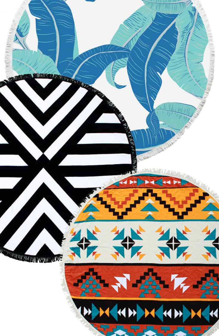 The Roundie Towel —This Year's Beach Must-Have