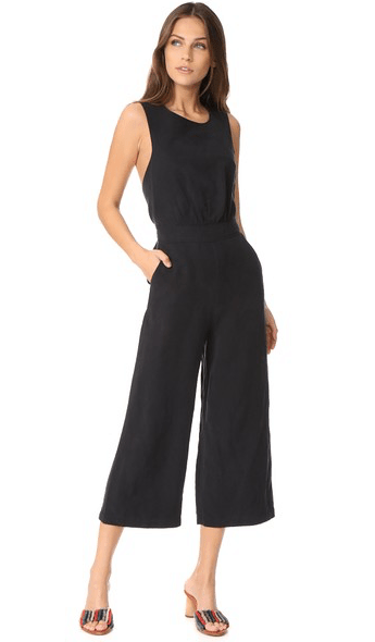 Sleeveless black jumpsuit from Shopbop