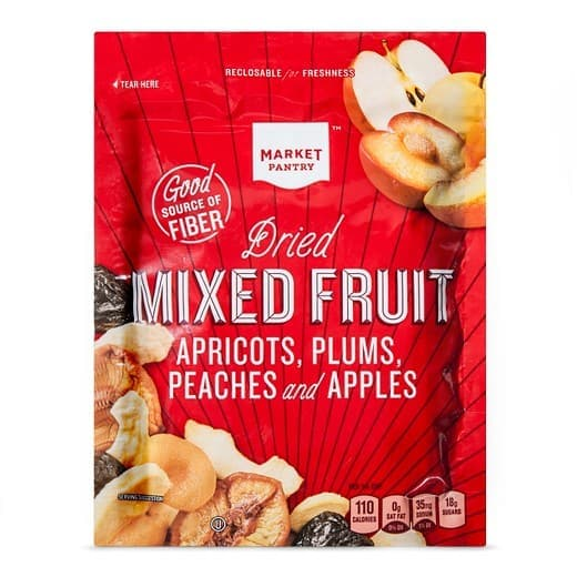 Mixed fruit trail mix from Target