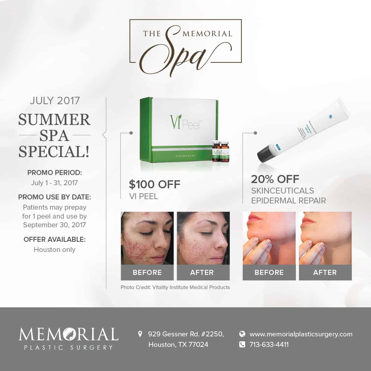 Summer Spa Special