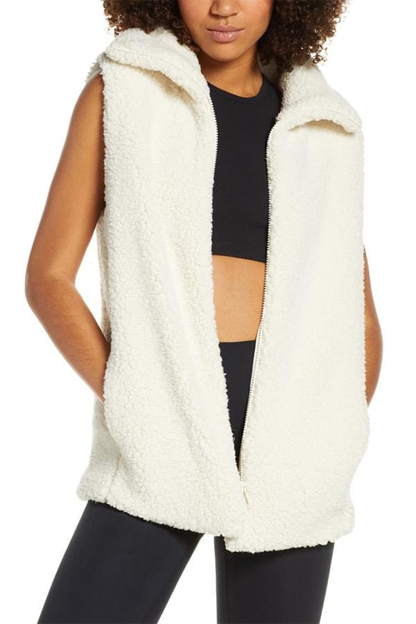 Fleece vest from Nordstrom Anniversary Sale
