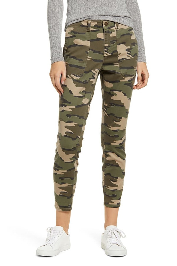Camo utility pants from Nordstrom Anniversary Sale