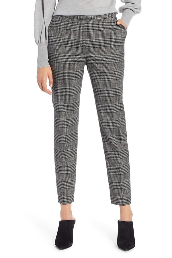 Plaid skinny pants from Nordstrom Anniversary Sale