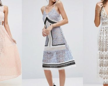 Collection of budget friendly, lookalike Self Portrait dresses