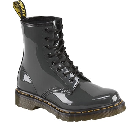Patent leather Doc Marten boot