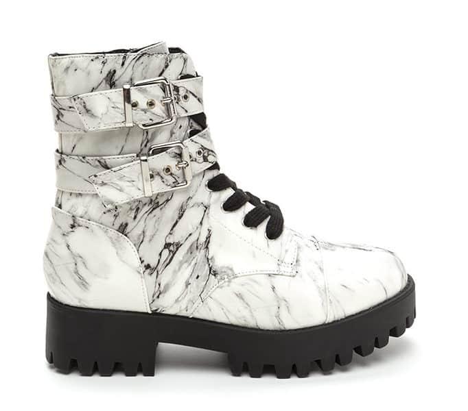 Marble lug boot