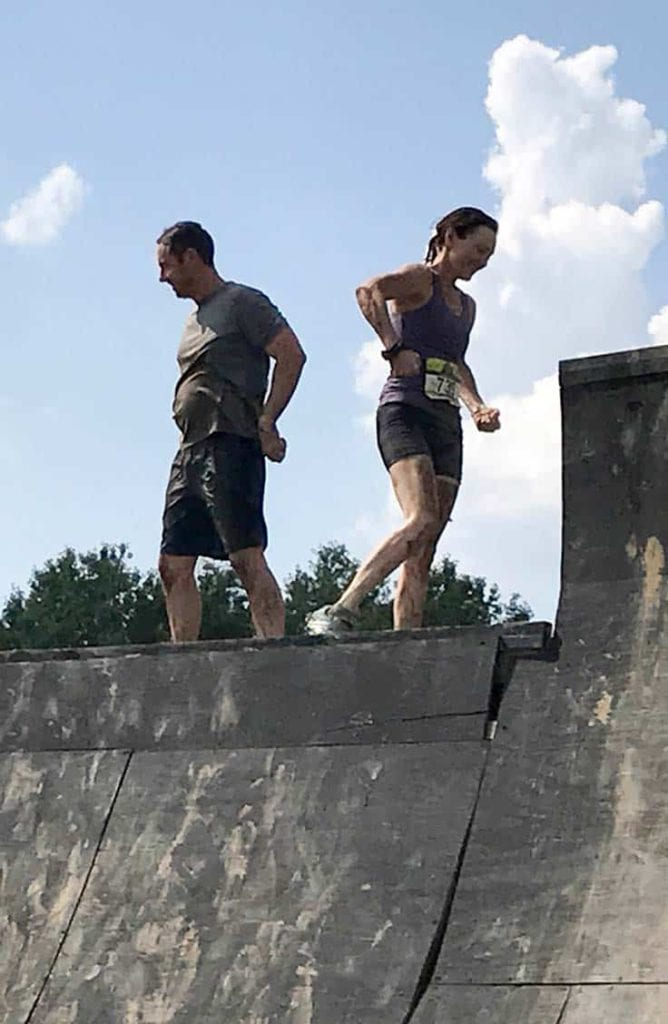 Warped wall obstacle course