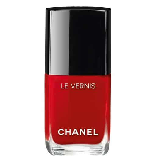 Chanel red polish