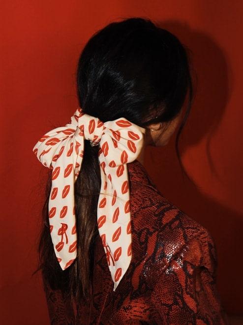 Silk handerkerchief