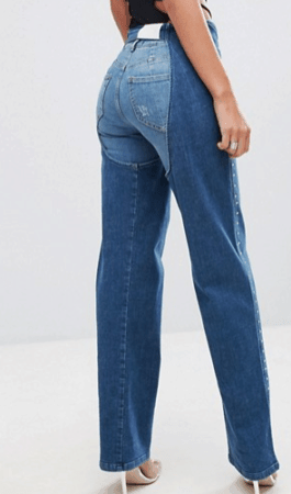 Denim chaps from ASOS